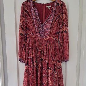 Joie Paisley Print Maxi Dress